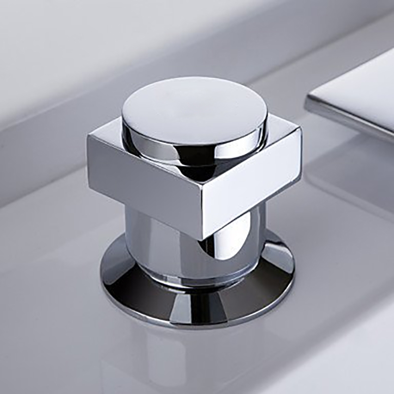 Widespread Chrome Waterfall Bathtub Faucet, Shower Faucet Sale