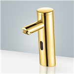 Gold Plated Commercial Automatic Bathroom Faucet