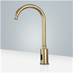 Commercial Automatic Gold Plated Motion Sensor Faucet