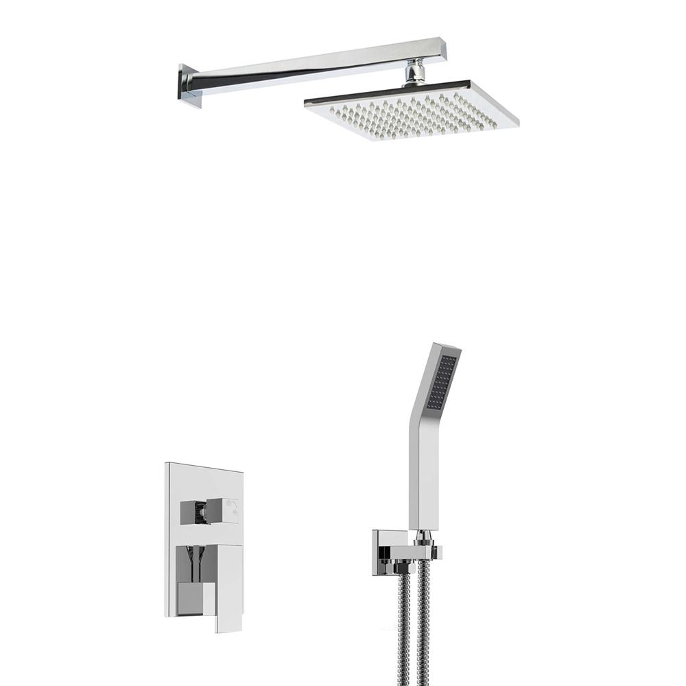Monro LED Shower Set - LED Shower Head, Multilevel Mixer