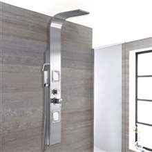 Ginevra Massage Shower Panel SystemHead