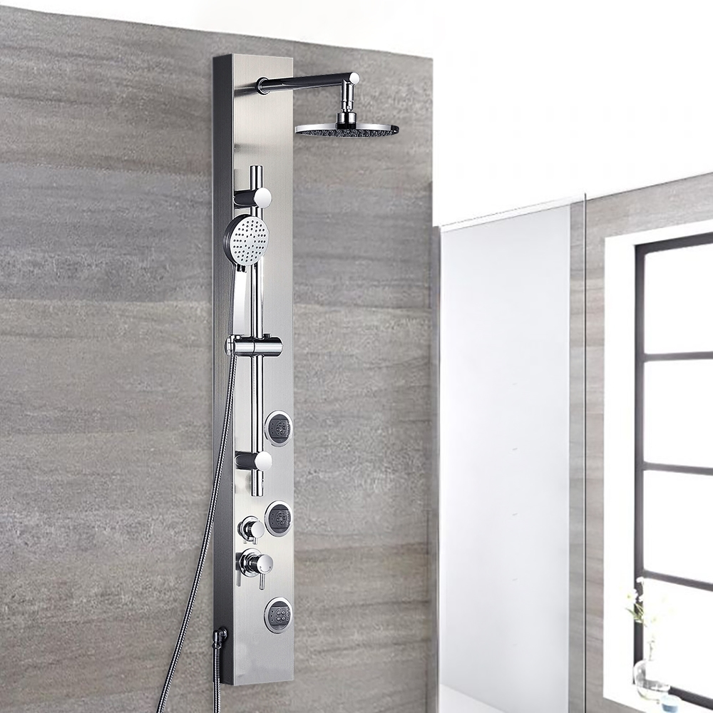 Fontana Ermanno Full Body Shower Massage Panel With Rain