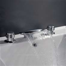 Fontana Billa Cascade Bathtub Faucet Set