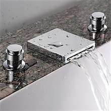 Fontana Florante Chrome Wide Spout Sink Faucet