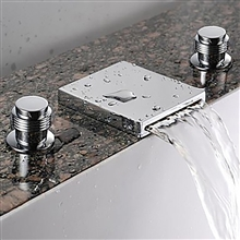 widespread Fontana Florante Chrome Widespread Sink Faucetfaucet