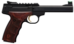 "Browning Buck Mark Plus Rosewood UDX .22 LR 5.5"" bbl 051533490"
