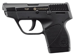 "Taurus 738 Semi-Auto Pistol 1738039BSS 380 ACP 3.3"" Black Grip Blued Finish 6 Rd"