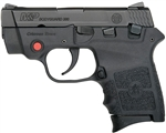 "Smith & Wesson Bodyguard Pistol 10048 380 ACP 2.75"" Black Synthetic Crimson Trace Grip Black Melonite Finish 6 Rd"