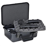 PLANO XLT DOUBLE PISTOL HARD CASE BLACK 1010088