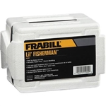 FRABILL LIL' FISHERMAN WORM BOX FLIP-TOP W/BEDDING 1025