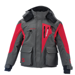 Striker Ice Predator Jacket, Red/Gray