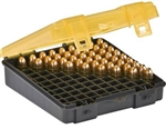 PLANO 100CT HANDGUN AMMO CASE 122400