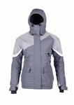 Striker Ice Womens Prism Floating Ice Fishing Jacket - Gray - Size 14