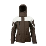 Striker Ice Womens Climate Floating Ice Fishing Jacket Size 18 - Coffee