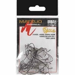 MATZUO X-TRA WIDE JBEND WORM HOOK 143012-1/0