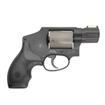 "S&W Smith & Wesson 340 PD Airlite Revolver 163062 357 Magnum 1 7/8"" Rubber Grip Scandiaum Alloy Frame 5 Rd HiViz Sights"