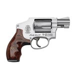 "Smith & Wesson 642 Ladysmith Revolver 163808 38 Special 1.87"" Wood Grip Stainless Finish 5 Rd"