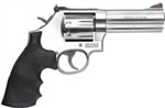 "S&W Smith & Wesson 686 Plus Revolver 164194 357 Magnum 4"" Synthetic Grip Satin Stainless Finish 7 Rd White Outline Sights"
