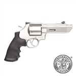 "Smith & Wesson 629 V-Comp Revolver 170137 44 Remington Mag 4.25"" Synthetic Grip Matte Stainless Finish 6 Rd"