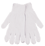KINCO STRING KNIT GLOVES -MED
