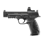 "Smith & Wesson 9 Pro Optics Ready Pistol 178058 9mm 5"" Interchangeable Palmswell Grip Stainless Finish 17 Rd"