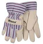 KINCO PIGSKIN GLOVES-Youth