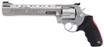 "Taurus 454 Raging Bull Large Frame Revolver 2454089M 454 Casull 8 3/8"" Soft Rubber Grip Matte Stainless Finish 5 Rd"