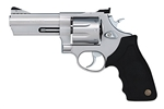 "Taurus 608 Large Frame Revolver 2608049 357 Magnum 4"" Soft Rubber Grip Matte Stainless Finish 8 Rd"