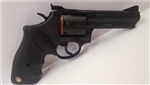 "Taurus 66 Medium Frame Revolver 2-660041 357 Magnum 4"" Black Rubber Grip Blue Finish 7 Rd"