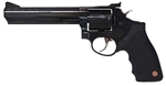 "Taurus 66 Medium Frame Revolver 2660061 357 Magnum 6"" Black Rubber Grip Blue Finish 7 Rd"