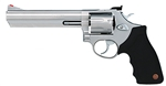 "Taurus 66 Medium Frame Revolver 2660069, 357 Magnum, 6"", Black Rubber Grip, Matte Stainless Finish, 7 Rd"