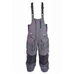 Striker Ice Predator Floating Bibs - Gray & Black - 4X-Large