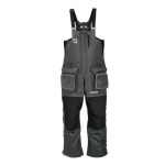 Striker Ice Predator Bibs, Gray/Black