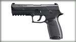 "Sig P320 Pistol 320F9BSS 9mm 4.7"" Interchangeable Polymer Grip Black Finish Night Sights 17 Rd"