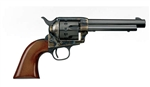 "Uberti 1873 Cattleman 12 Shot Revolver 356087 22 Long Rifle 5.5"" 1- Piece Walnut Grip Blue Case-Hardened Steel Frame"