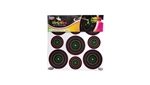 "BIRCHWOOD CASEY DIRTY BIRD MULTI-COLOR TARGETS 180/PK 2"" 3"" 35828"