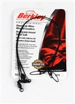 "BERKLEY WIRE WOUND STEELON LEADER 3/PK 24"" 45# BLACK 3W2445BL"
