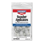 BIRCHWOOD CASEY SWAUBER APPLICATORS 20/PK 41110