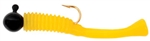 "CUBBY MINI MITE JIG 1-1/2"" 1/32 OZ #8 HK 5PK BLACK/YELLOW 5017"