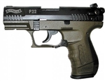 "Walther P22 QD MILITARY Green 22 LR 3.42"" 5120515"