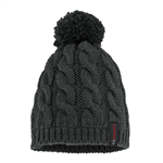Striker Ice SI Cable Knit Hat, Black