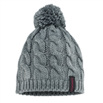 Striker Ice SI Cable Knit Hat, Gray