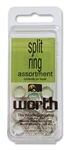 WORTH SPLIT RINGS SIZE 2 - 53102