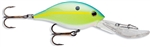 "LUHR JENSEN HOT LIPS EXPRESS 2-3/4"" 1/2 OZ CHARTREUSE SHAD 6554-012-1423"