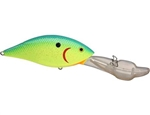 "LUHR JENSEN HOT LIPS EXPRESS 3-1/4"" 3/4 OZ CHARTREUSE BLUE CRYSTAL 6554-034-0583"