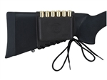THOMPSON CENTER BUTTSTOCK RIFLE AMMUNITION CARRIER LACED LARGE NYLON BLACK 7165