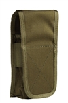 Uncle Mike's M4 / M16 30 Round Double Rifle Mag Pouch, OD Green