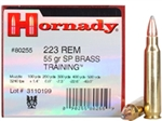 Hornady 80255 223 Remington Soft Point 55 GR 50 round box
