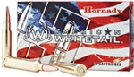 Hornady American White Tail Rifle Ammunition 8053 270 Winchester Soft Point 130 GR