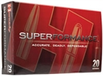 Hornady Superformance Varmint Rifle Ammunition 83005 17 Hornet V-Max 20 GR 3650 fps 25 Rd/bx